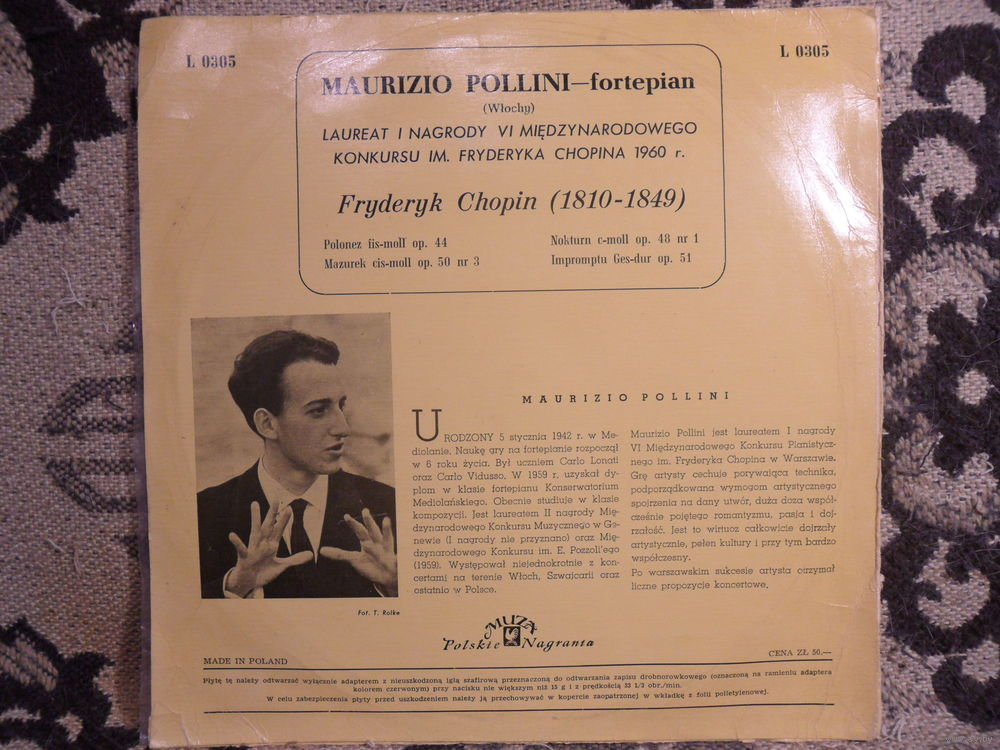 Chopin, Nocturnes - Maurizio Pollini torrent on isoHunt